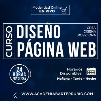 Curso de Diseño de Paginas Web y Tiendas Online